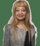 Odile Belinga, candidate de Gérard Collomb dans le 1er arrondissement.