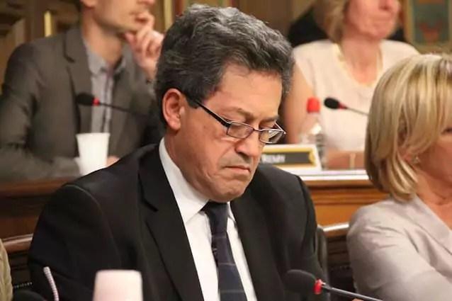 Georges Fenech, député Les Républicains de la 11e circonscription du Rhône et poids lourd de la droite à Lyon. © Pierre Maier/Rue89Lyon