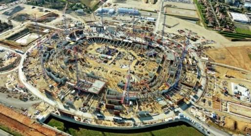 Le chantier du Grand Stade © Richard Mouillaud