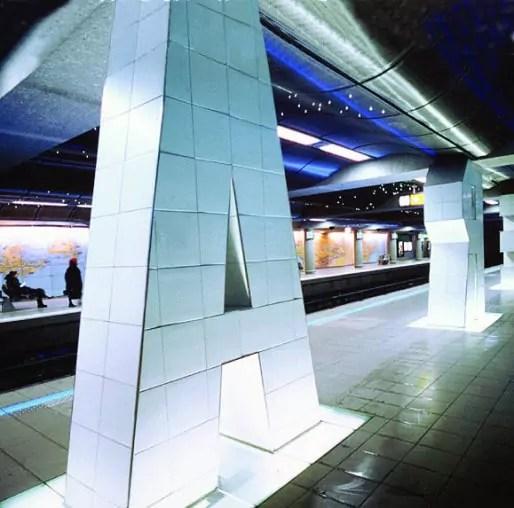 Station de métro Place Jean-Jaurès