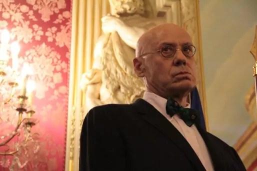 James Ellroy dans les salons de l'Hôtel de Ville de Lyon. ©Pierre Maier/Rue89Lyon.
