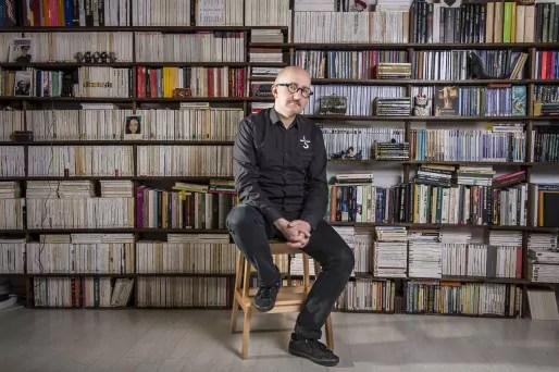 Fabien Thévenot, fondateur de la maison d'édition Le Feu Sacré ©Octokunst