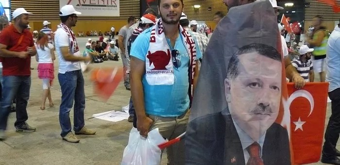 Erdogan à Lyon : meeting controversé pour la plus grande communauté turque de France