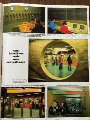 Page intérieure du numéro de La Vie du Rail de mai 1978, consacré au métro de Lyon.