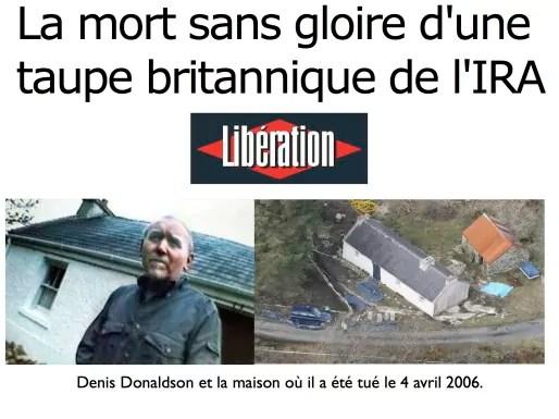 Montage de la Une de Libération du 14 octobre 2014. Par DDM.