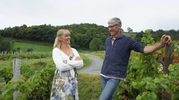 Isabelle et Bruno Perraud (Côtes de la Molière) seront présente au Salon des vins Rue89 Lyon. Crédit : DD/Rue89Lyon.