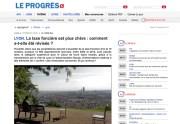 Vigie revalorisation taxe fiscale sur leprogres.fr