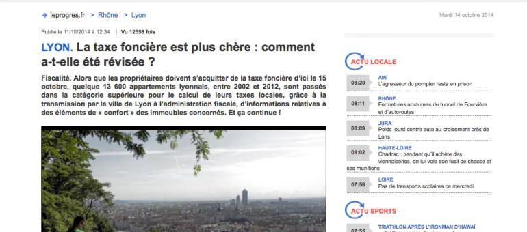 Pourquoi une augmentation de la taxe fiscale à Lyon ?