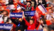 Des suporters de Marine Le Pen lors de son meeting de campagne à Lyon, en avril 2012. Crédit : T. Francillard/Rue89Lyon.