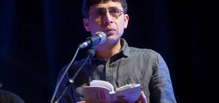 Anas Alaili, poète palestinien en exil à Lyon