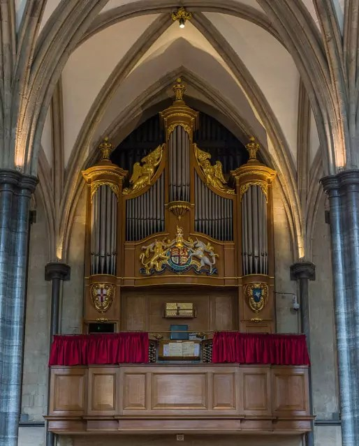 Les grandes orgues de Temple Church