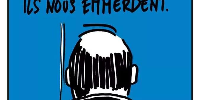 Le magazine lyonnais Charlie Héros met en Une la crotte de pigeon de François Hollande