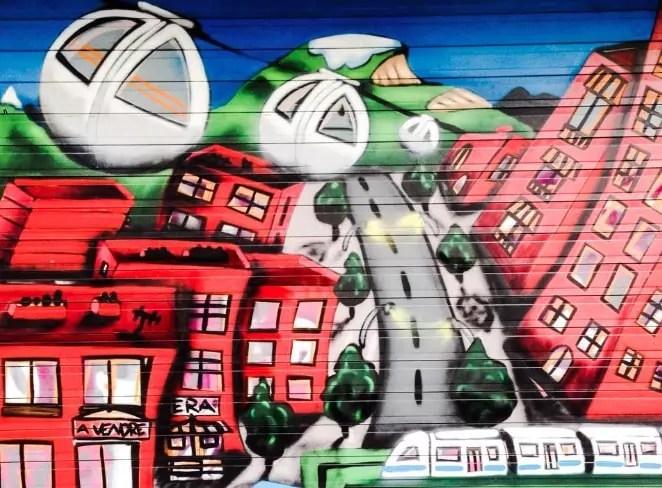 Photo de Une : Fresque StreetArt quartier Chavant à Grenoble.©StreetArtInGrenoble.