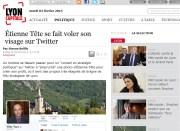 Etienne Tête se fait voler son visage sur Twitter