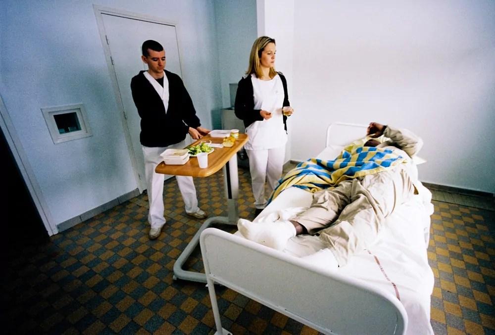 Une chambre de l'Usip au Vinatier. Photo de 2010 ©FCaterini/Inediz
