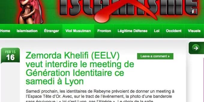 Comment la fachosphère a pris pour cible l'élue écolo de Villeurbanne Zemorda Khelifi