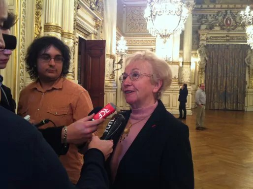 Danielle Chuzeville, présidente UDI du Rhône. Crédit : Rue89Lyon.