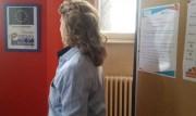 Joëlle, 57 ans, à la permanence emploi du CIDFF du Rhône. Plutôt que de s'engager, l'Europe, via le FSE, se désengage. ©LB/Rue89Lyon