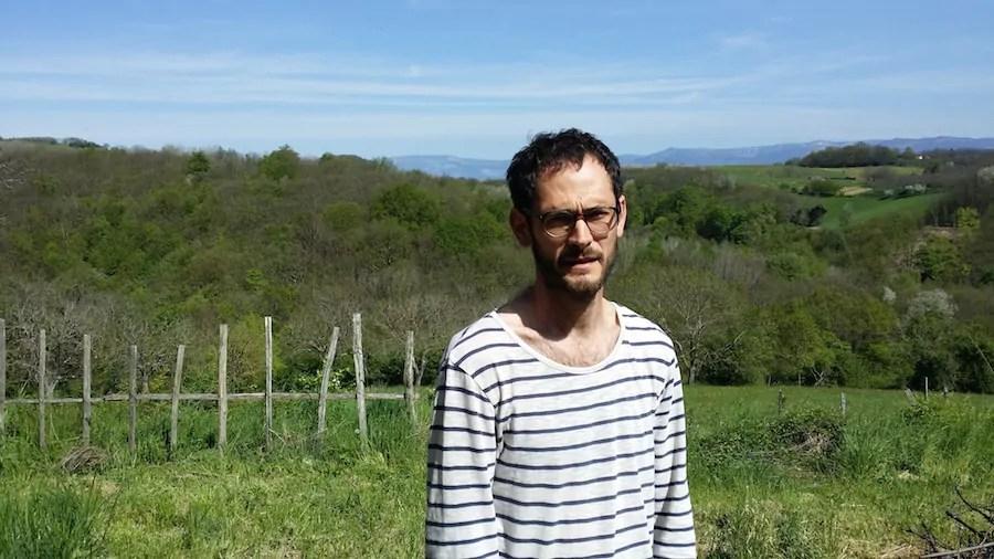 Rémy, agriculteur sur la commune de Dionay et zadiste. ©LB/Rue89Lyon