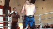 Un des combats de free-fight de l'édition 2014 qui a lieu dans la région lyonnaise. Capture d'écran de la Vidéo de White Rex.
