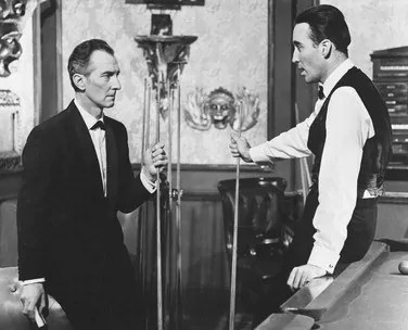 Peter Cushing et Christopher Lee