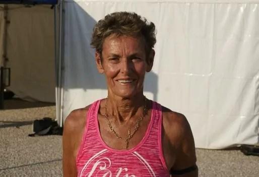Marge Allison, médaillée d'argent 2015 100 m femmes 70 - 75 ans © MP/Rue89Lyon