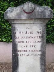 Plaque commémorative de Fleurieu ©DR