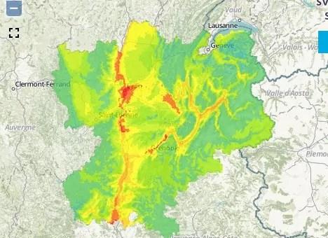 Pic de pollution à Lyon : niveau d'information activé