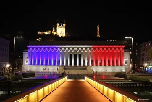 Le palais de justice de Lyon, via le FB de Gérard Collomb.