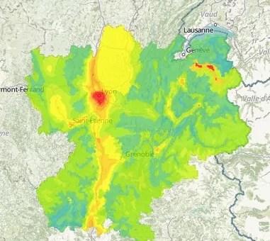 Troisième pic de pollution de l'automne à Lyon