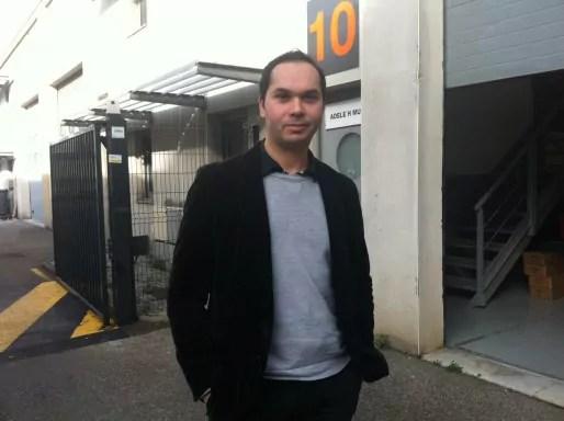 """Chakib Haboubi a créé Adèle H, la société qui commercialisera son piano """"Phoenix"""". Crédit : Rue89Lyon."""
