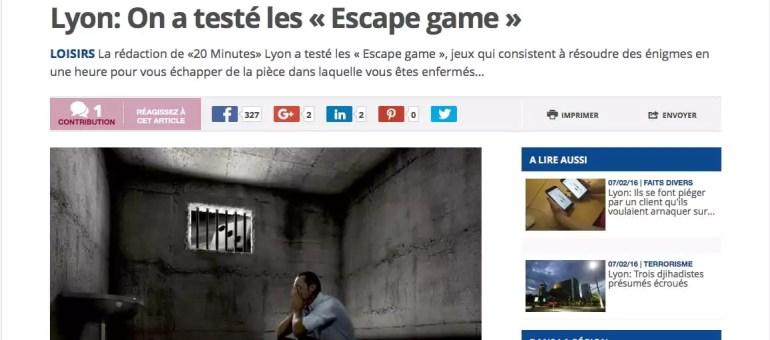 «Escape game» à Lyon : vous avez une heure pour vous évader