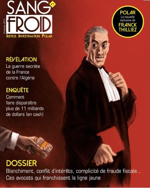 Sang-froid, la nouvelle revue trimestrielle dédiée à l'univers policier et judiciaire