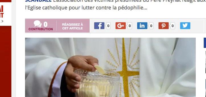 Mesures de l'Eglise contre la pédophilie : « La montagne accouche d'une souris »