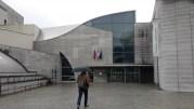 Entrée du site Descartes de l'ENS Lyon, à Gerland. ©LB/Rue89Lyon