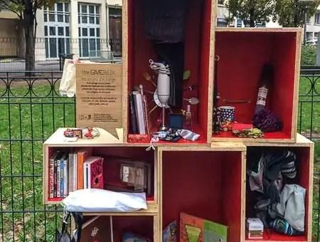 Où sont les boîtes à lire de Lyon ? Ou le concept génial de la givebox