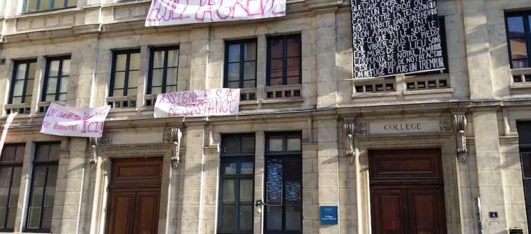 Loi Travail : 12 heures d'occupation de l'ancien collège Truffaut