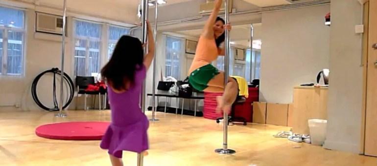 Sport en famille : «Et si on faisait du Pole Dance avec Maman ?»