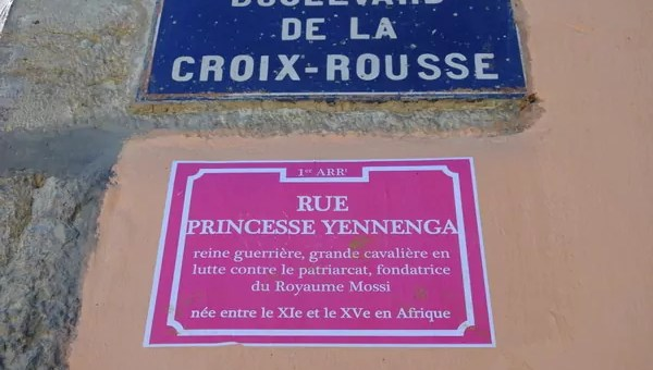 À Lyon, les rues rebaptisées avec des noms de femmes