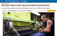 Chanel investit dans la Loire pour sa filière soie