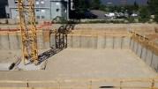 Le chantier de l'IFCM a débuté en mai 2016. En septembre, les fondations vont être construites. ©LB/Rue89Lyon