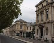 Université Lyon 2 et vue du quai Claude Bernard. © AJ/Rue89Lyon