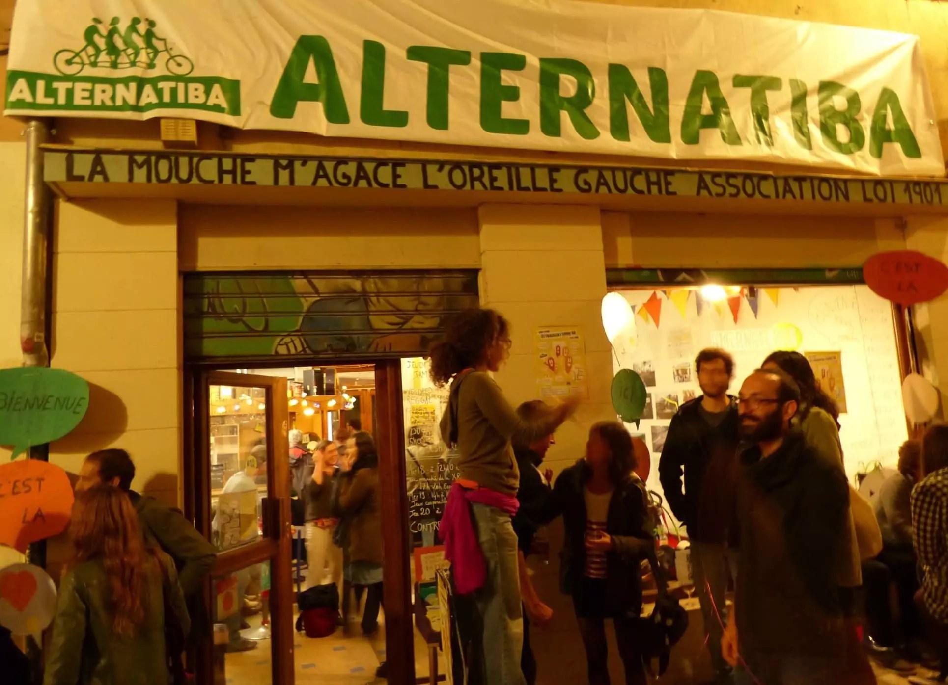 L'Alternatibar, ouvert depuis le 1er septembre, organisait sa soirée d'inauguration officielle le samedi 15 octobre.