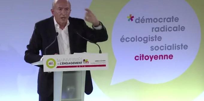 Gérard Collomb joue la provoc' devant le PS avec sa macronite aigüe