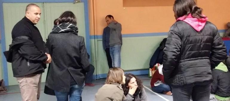 L'école Gilbert Dru de la Guillotière occupée malgré la pression policière