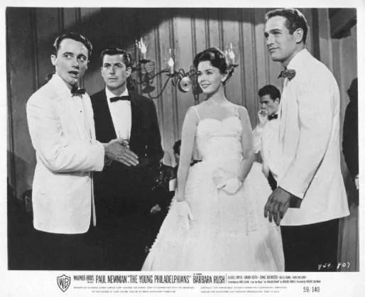 Vaughn avec Barbara Rush et Paul Newman dans Ce monde à part, 1959