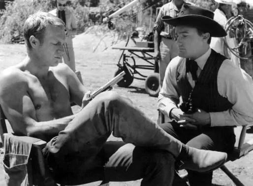 Deux mercenaires au repos, McQueen et Vaughn en 1960
