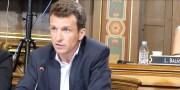 """Stéphane Guilland, président du groupe d'opposition Les Républicains et apparentés """"Ensemble pour Lyon"""". Capture d'écran Youtube"""