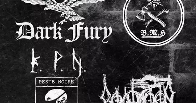 Dans la région lyonnaise, un concert de black metal néonazi