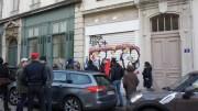 Le local de l'Action française à Lyon, à Ainay (2ème arrondissement). ©LB/Rue89Lyon